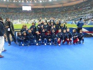 11 Petits bleus au Stade de France ! dans b - vie du club p1010329-300x225