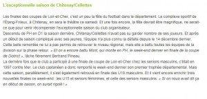 Article FINALE Coupe Loir et Cher 3