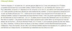 Article NR - Tournoi avant 2