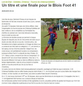 Article tournoi 2015